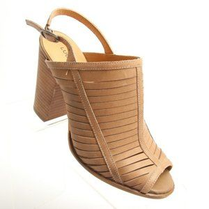 Lucky Brand Strappy High Heels Peep Toes Shoes